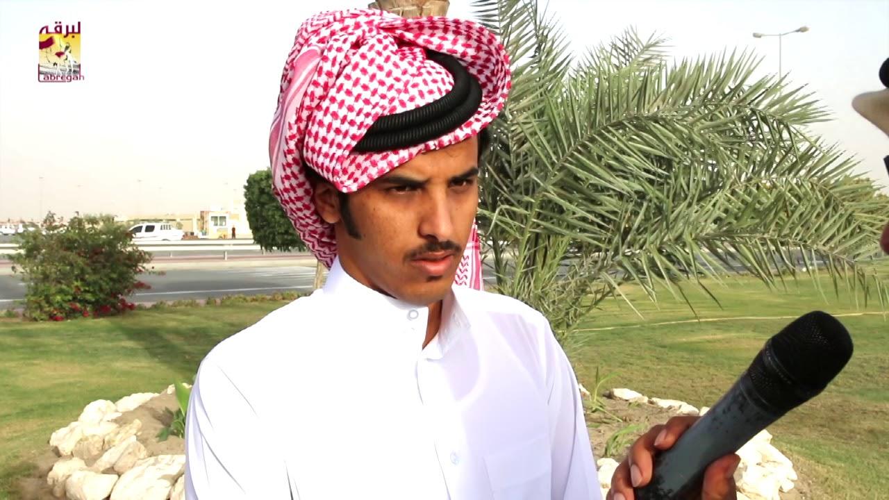 لقاء مع سالم بن حمد بن مهيرة الشوط الرئيسي للزمول إنتاج صباح ١٧-١-٢٠١٩