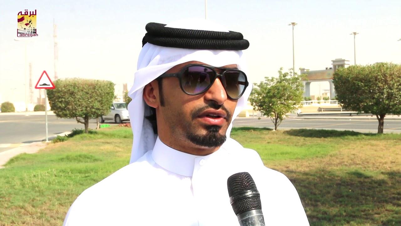 لقاء مع جارالله بن علي بن ذروة الشوط الرئيسي للقايا قعدان عمانيات المحلي الثالث صباح ١٢-١٠-٢٠١٨