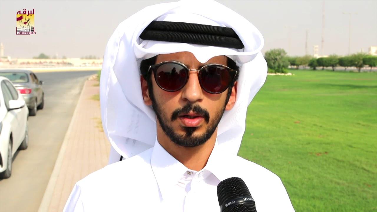لقاء مع فهد بن راشد السلعان الشوط الرئيسي للجذاع بكار إنتاج صباح ٢٥-٩-٢٠١٩