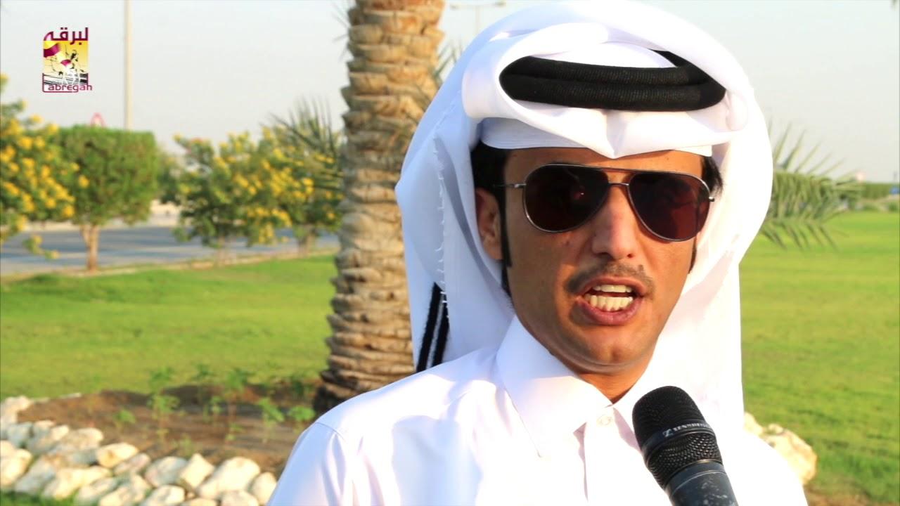 لقاء مع المضمر سعود بن سلعان المري الفائز بالشوط الرئيسي للجذاع قعدان بالأشواط المفتوحة المحلي الخامس مساء ١١-١١-٢٠١٧