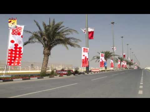 لقاء خاص مع سعادة الشيخ حمد بن جاسم بن فيصل آل ثاني ،،، رئيس اللجنة المنظمة لسباقات الهجن بافتتاح مهرجان المؤسس ٢٠١٥