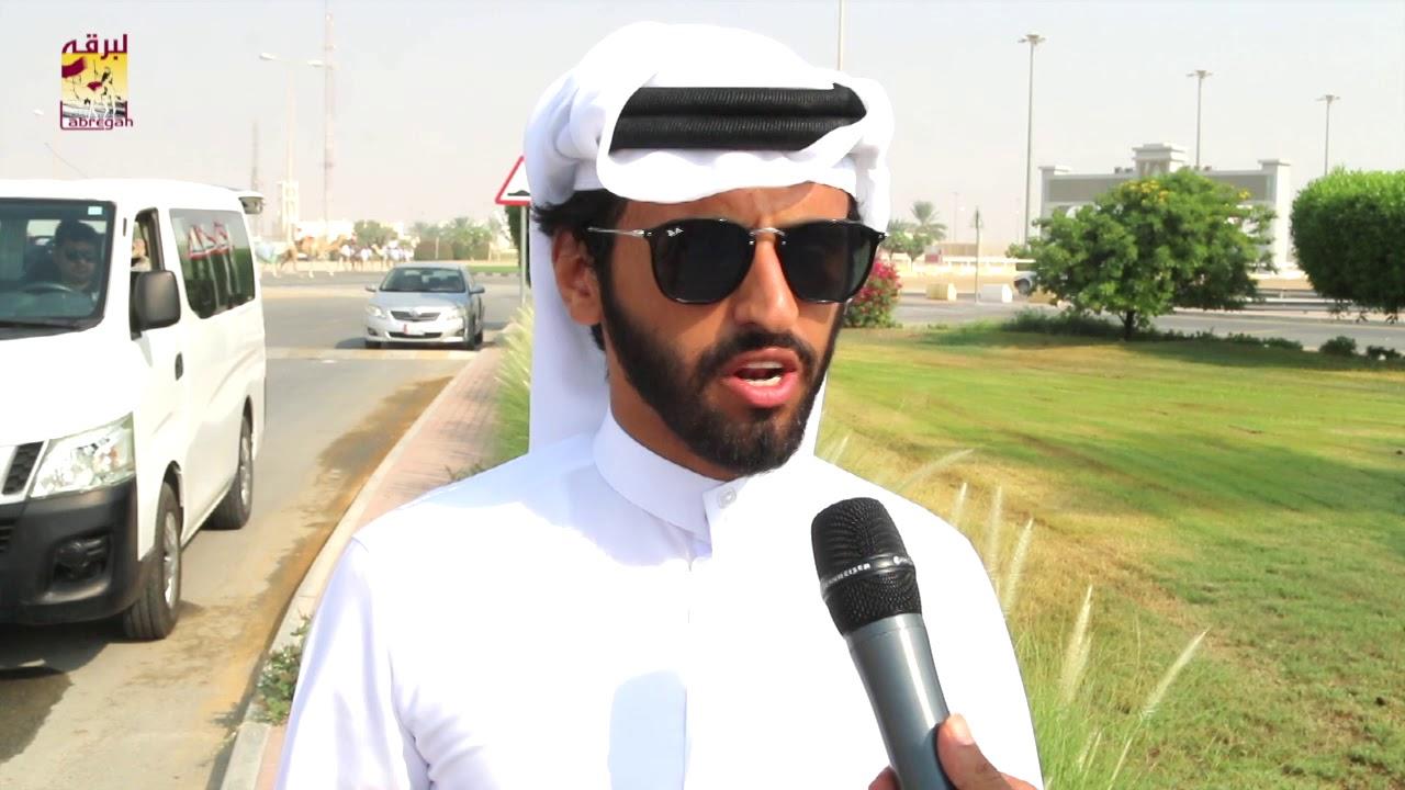 لقاء مع عبدالله بن راشد الزكيبا الشوط الرئيسي للجذاع بكار إنتاج صباح ١٢-١٠-٢٠١٩