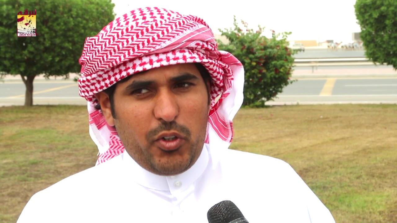 لقاء مع محمد بن علي بن حلفان الشوط الرئيسي للقايا بكار المفتوح مساء ٩-١١-٢٠١٨