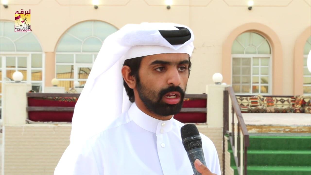 لقاء مع جابر سالم فاران المري مضمر هجن الشحانية الحائزة على شلفة اللقايا بكار وخنجر القعدان المفتوح  ١٦-٤-٢٠١٨