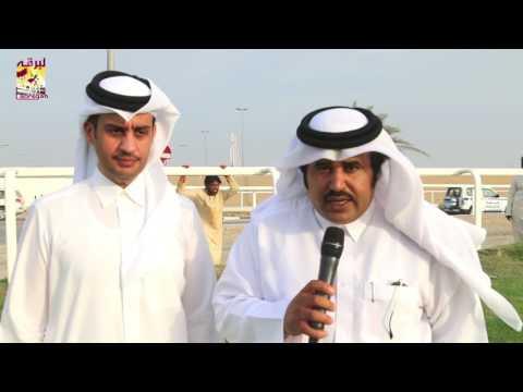 لقاء مع حمد بن غانم الهديفي (الفائز بالشلفة الفضية للثنايا بكار) مهرجان تحدي قطر ٢٥-٤-٢٠١٧