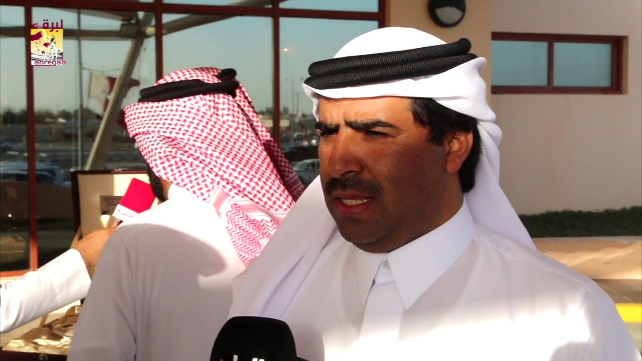 لقاء مع المضمر-  محمد بن شافي القحطاني متحدثاً عن الفوز بالشلفة الفضية للحيل عمانيات بمهرجان سمو الأمير الوالد  ١٤-٣-٢٠١٨