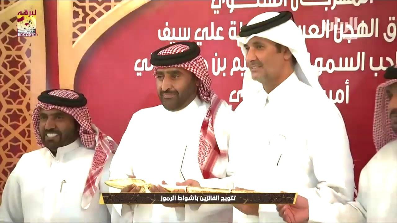 لقاء مع محمد بن خالد العطية الشلفة الذهبية للجذاع بكار مفتوح مهرجان سمو الأمير المفدى مساء ٤-٤-٢٠١٩