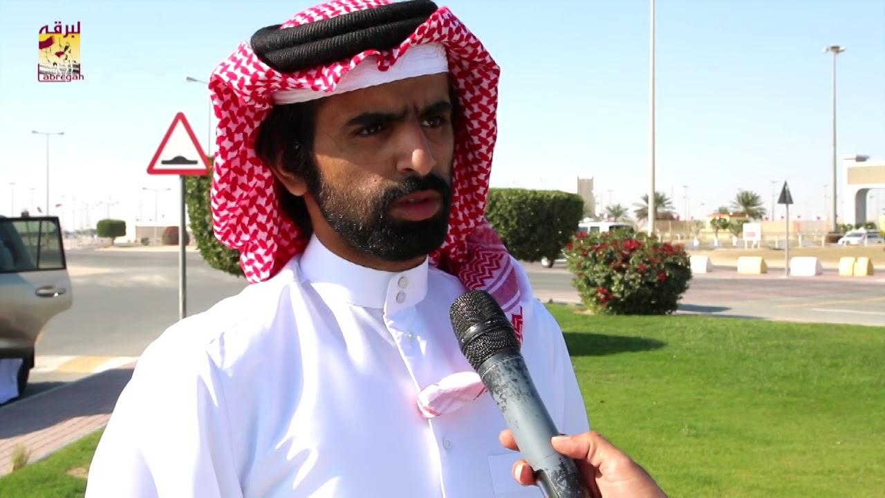 لقاء مع جابر بن سالم بن فاران متحدثاً عن فوز هجن الشحانية برموز الجذاع مساء ٧-٣-٢٠١٩