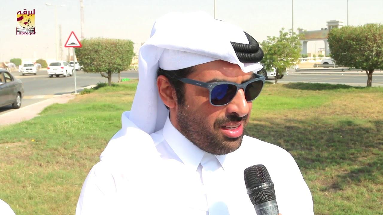 لقاء مع خليفة بن عبدالله العطية الشوط الرئيسي للقايا بكار عمانيات المحلي الثالث صباح ١٢-١٠-٢٠١٨