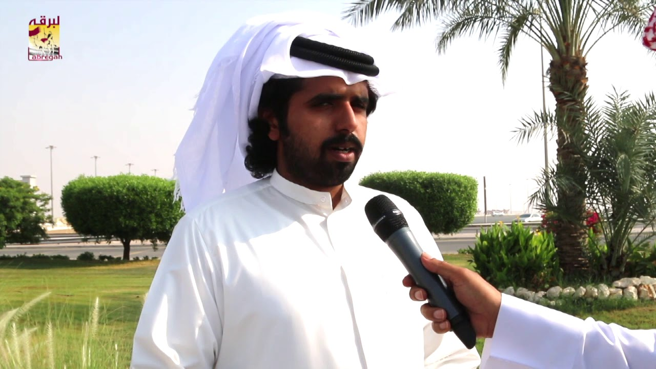 لقاء مع محمد بن حمد بن جهويل الشوط الرئيسي للجذاع قعدان مفتوح صباح ١٢-١٠-٢٠١٩