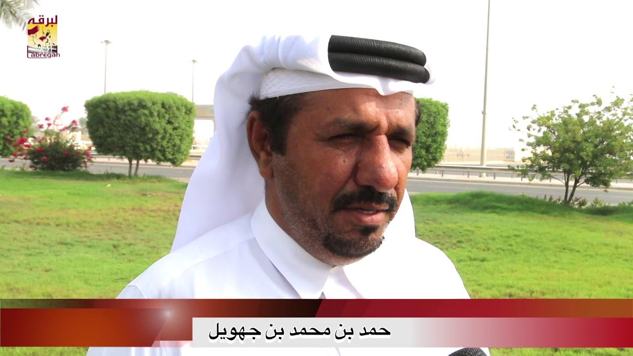 لقاء مع حمد بن محمد بن جهويل الشوط الرئيسي للزمول المفتوح المحلي الأول ١٦-٩-٢٠١٨
