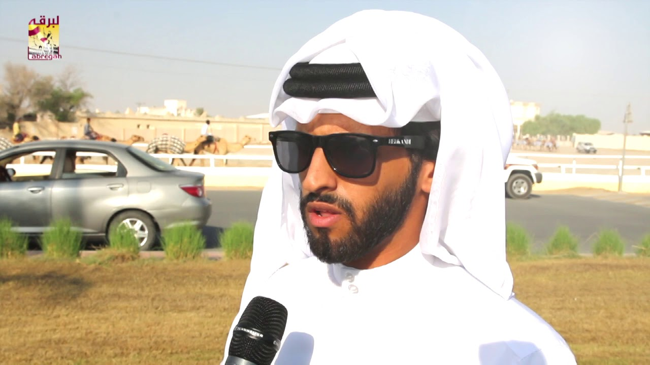لقاء مع عبدالله بن راشد الزكيبا         الفائز بالأشواط الرئيسية للجذاع بكار وقعدان للإنتاج صباح ١١-٩-٢٠١٩