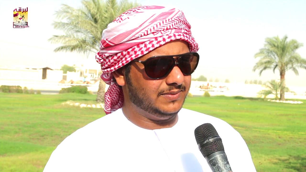 لقاء مع جابر بن هديب الهاشمي الشوط الرئيسي للجذاع بكار إنتاج المحلي الأول ١٢-٩-٢٠١٨