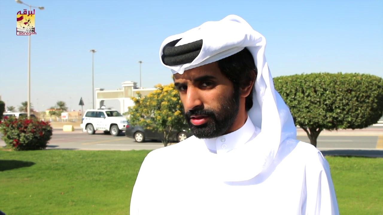 لقاء مع جابر بن سالم بن فاران متحدثاً عن فوز هجن الشحانية برموز الثنايا مساء ١٠-٣-٢٠١٩